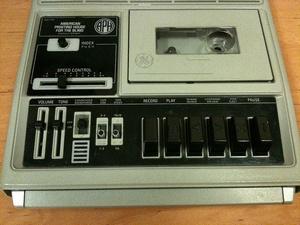 Ein Kassettenrekorder