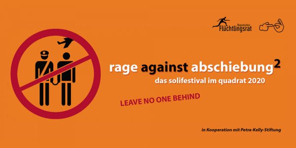 Rage against abschiebung